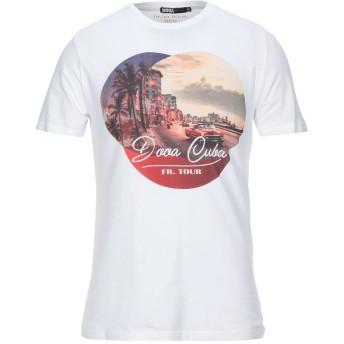 《セール開催中》DOOA メンズ T シャツ ホワイト S コットン 100%
