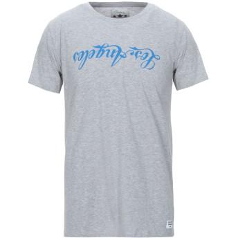 《セール開催中》MACCHIA J メンズ T シャツ グレー L コットン 100%