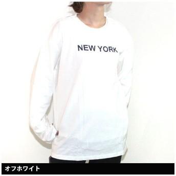 ネクストウォール 「849 17」レディース ビックTシャツ ビッグTシャツ ロンT ティーシャツ 七分袖 7分袖 長袖 BIGTシャツ レディース オフホワイト XL(BIG) 【NEXT WALL】