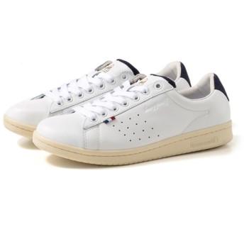 [靴]ルコックスポルティフ スニーカー LA ROLAND LE+2 QL1NJC06WN ホワイト/ネイビー 27.0cm