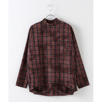 MARcourt / マーコート tie dyed check P/O