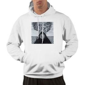 Gojira Magma 人気 パーカー メンズ 長袖 秋服 メンズ 冬服 フード付き レイヤード スウェットパーカー 黒 白 シンプル カジュアル おしゃれ おおきいサイズ