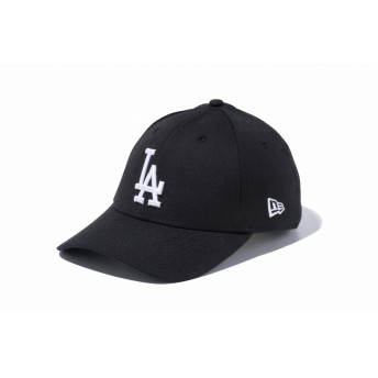 NEW ERA ニューエラ 9FORTY ロサンゼルス・ドジャース ブラック × ホワイト アジャスタブル サイズ調整可能 ベースボールキャップ キャップ 帽子 メンズ レディース 56.8 - 60.6cm 12336647 NEWERA
