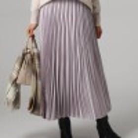 シルデューサテンプリーツスカート