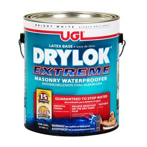 美國 UGL 15年保固 水性正負水壓防水塗料 白 1G DRYLOK