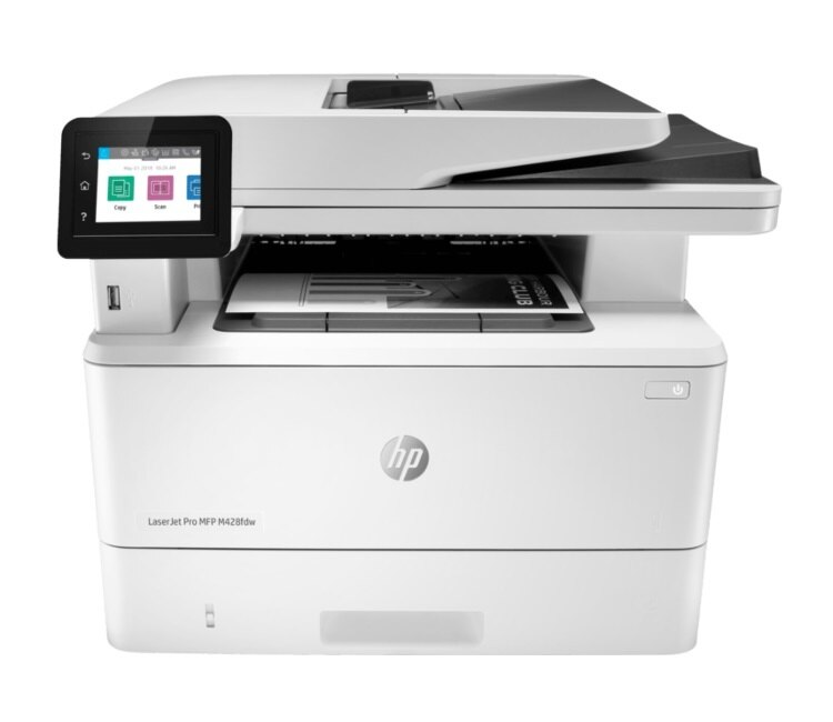 HP M428fdw 黑白雷射傳真複合機【影印/列印/掃描/傳真/自動雙面列印】