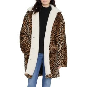[サンクチュアリー] レディース ジャケット・ブルゾン Sanctuary Sierra Print Faux Fur Coat wit [並行輸入品]
