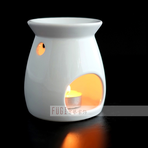 【富藝家飾】陶瓷香薰燭台 陶瓷香薰燈  居家香氛用品