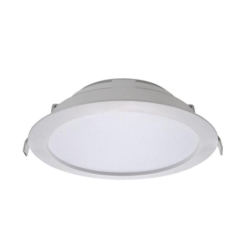 億光LED 星河崁燈 15W 全電壓/崁入孔150/200 產品特色 • 設計典雅,適合各種室內建築空間 • 光色均一,營造明亮照明效果 • 全電壓輸入 100-240 VAC,簡易更換維護 功率(W