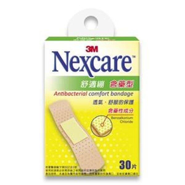 3M 舒適繃 含藥型 30片/盒★愛康介護★