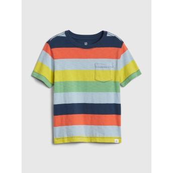 Gap ストライプポケットTシャツ (幼児)