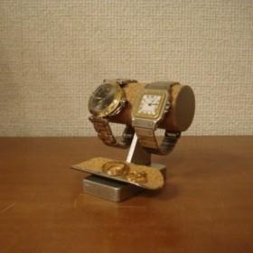 腕時計 飾る ちびトレイ付き腕時計スタンド No.130226