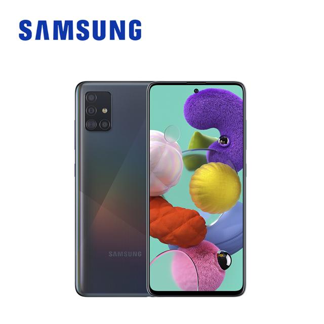 SAMSUNG Galaxy A51 (6G/128G)智慧手機 晶礦黑