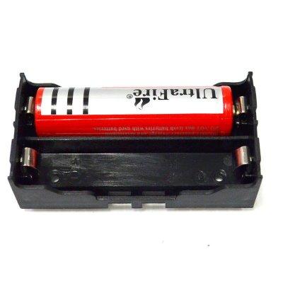 18650電池盒2節帶插針 18650鋰電插座 兩位元 可並可串電池盒 插針【GF352】☆久林批發☆