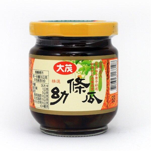 大茂 幼條瓜 玻璃罐 170g【康鄰超市】