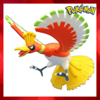 TAKARA TOMY 鳳王 鳳凰 公仔 精靈寶可夢 神奇寶貝 ML-01 pokemon【代購】【星野日貨】