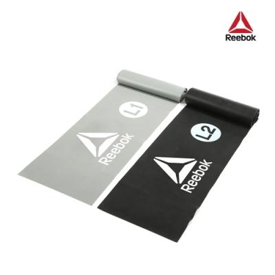 Reebok彈力訓練帶(2入)(0.35mm/0.5mm)(灰/黑)