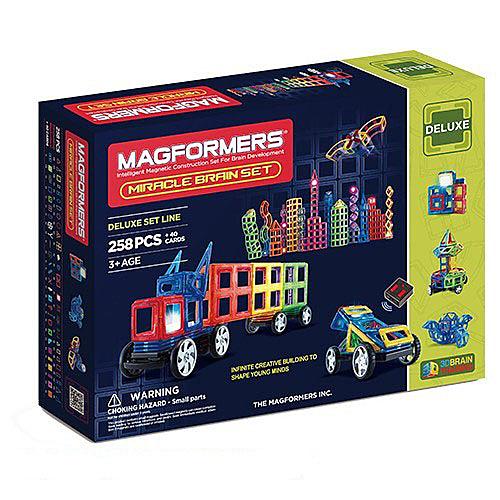 【韓國 Magformers 磁性建構片】炫彩奇蹟258pcs ACT05914