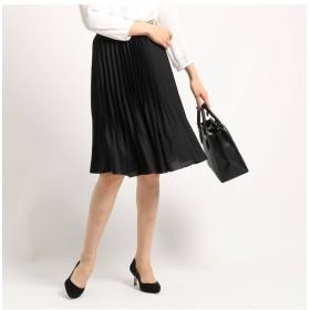 【インディヴィ/INDIVI】 【ママスーツ/入学式 スーツ/卒業式 スーツ/ハンドウォッシュ】消しアコーディオンプリーツスカート