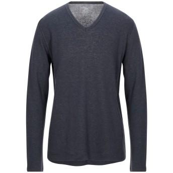 《セール開催中》MAJESTIC FILATURES メンズ T シャツ ダークブルー XL コットン 70% / カシミヤ 30%