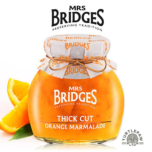 【MRS. BRIDGES】英橋夫人厚切柑橘果醬(大)340g 交換禮物首選