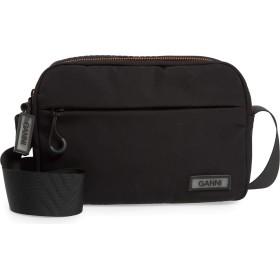 [ガニー] レディース ハンドバッグ Ganni Tech Fabric Crossbody Bag [並行輸入品]