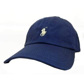 (ポロ ラルフローレン) POLO RALPH LAUREN ローキャップ Classic Cotton Hat 3323552489 ネイビー OneSize