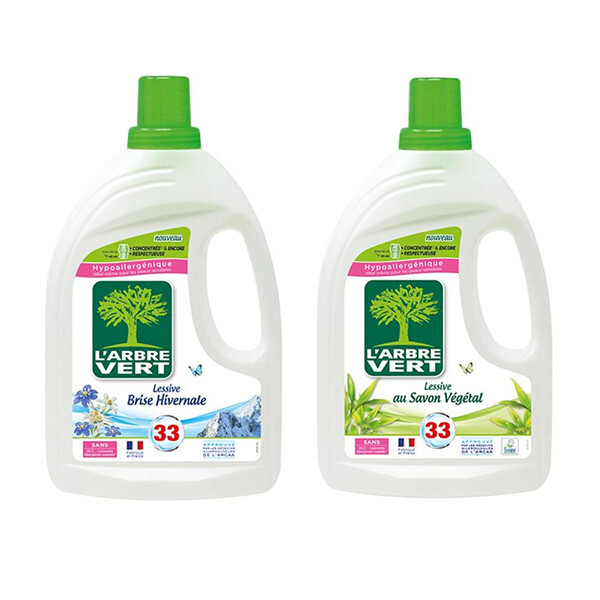 法國綠活維濃縮洗衣精1.5l(兩款任選)