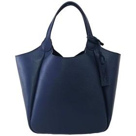 MARCO MASI 2140 [マルコマージ] トートバッグ ハンドバッグ ブランド レザー 鞄 シンプル [イタリア製] (Navy/ネイビー)