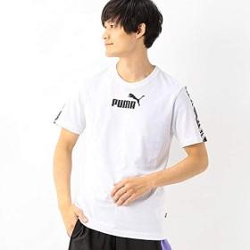 プーマ(PUMA) 【プーマ】メンズSSシャツ(AMPLIFIED Tシャツ)【02ホワイト/M】