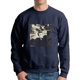 メンズパーカー春 秋 冬 人気 原宿風 ジェームス・ディーン James Dean 長袖 丸首 フード付き スウェット 通勤 通学 旅行 スポーツお