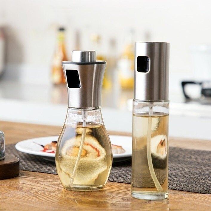 噴油罐 噴油壺 醬油壺 噴油瓶 調味瓶 玻璃噴霧器 噴霧調味瓶 噴瓶 醬料瓶 調味料罐【RS1029】