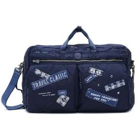 ギャレリア ポータークラシック ビジネスバッグ Porter Classic 3WAY ブリーフケース SUPER NYLON 3WAY BRIEFCASE L BLUE メンズ その他 F 【GALLERIA】