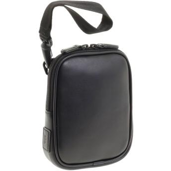 【オンワード】 ACE BAGS & LUGGAGE(エースバッグズアンドラゲージ) ace./エース|ペルライトs2 軽量レザーベルトポーチ 38121 ブラック F メンズ 【送料無料】