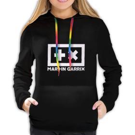 マーティンギャリックス Martin Garrix 7 レディース プルオーバー トレーナー パーカー レディース 長袖 プルオーバー スウェットパーカー フード付き ゆったり カジュアル ポケット 暖かい 春秋冬
