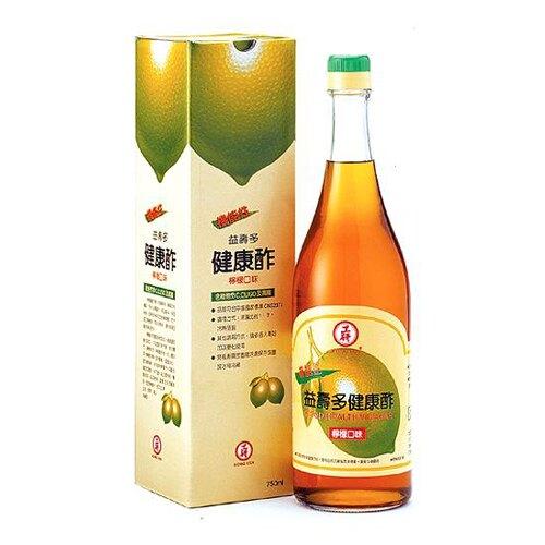 工研益壽多健康酢(檸檬)750ml(6入)/箱【康鄰超市】