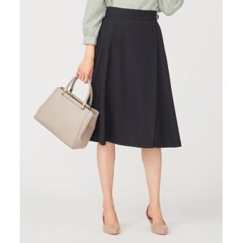 【洗える】スプリングサイドベルト スカート