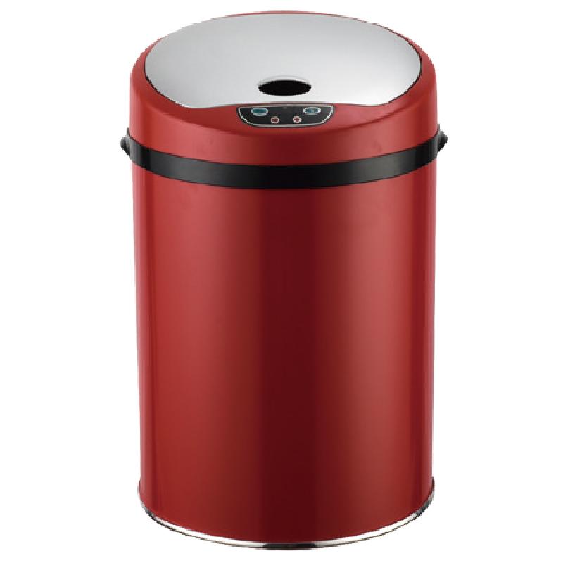 幻影智能感應垃圾桶15L-魅惑紅