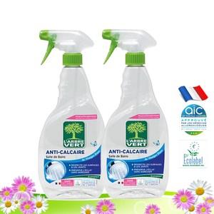 法國綠活維浴廁清潔噴霧740ml-2入組
