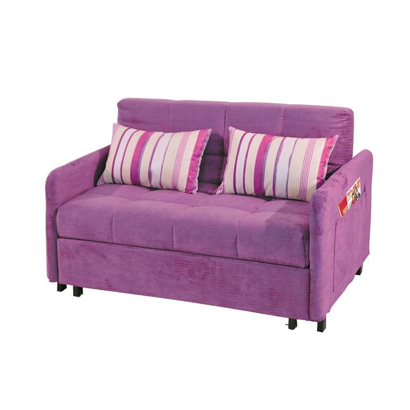 【KC53-1】 402-1紫色沙發床(1件)