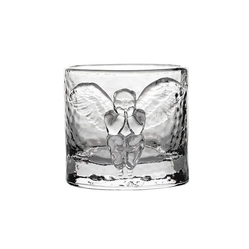 天使浮雕威士忌杯