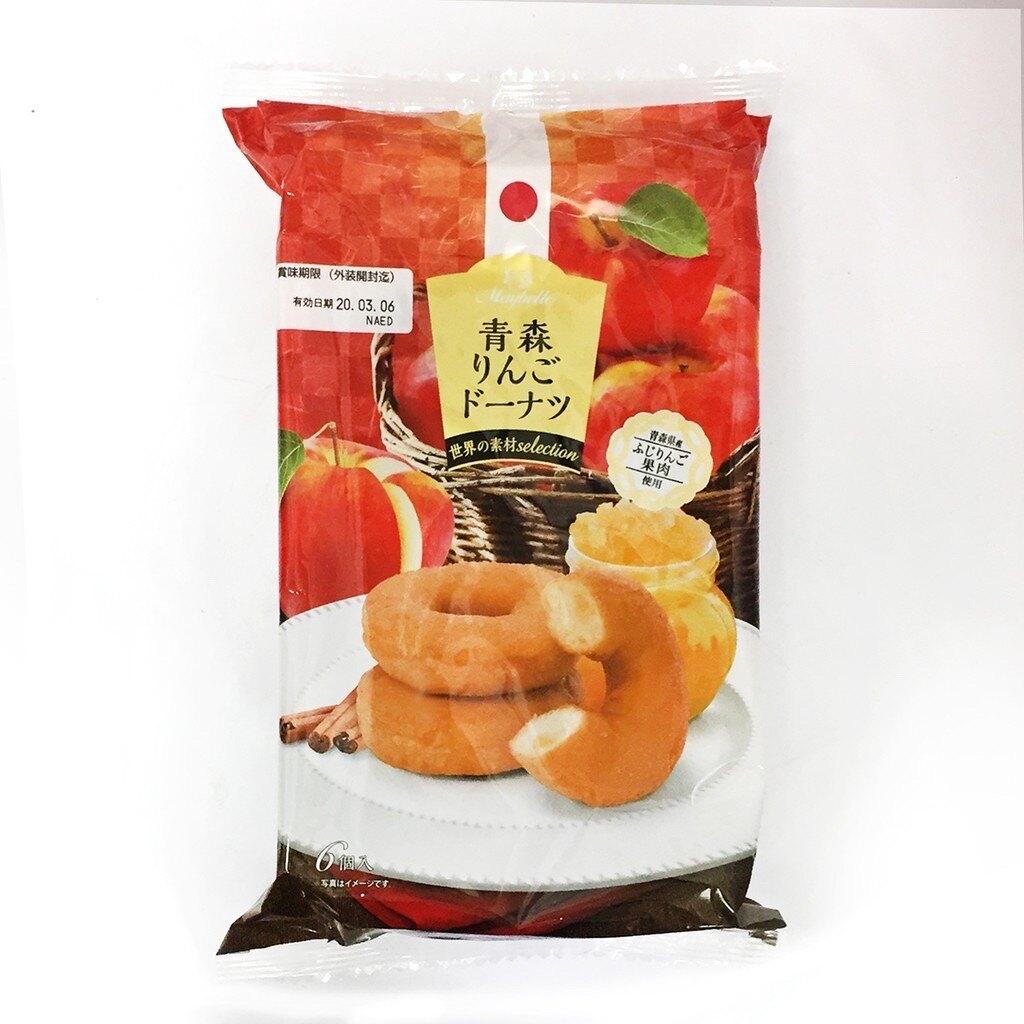 丸中 青森蘋果甜甜圈 6個入