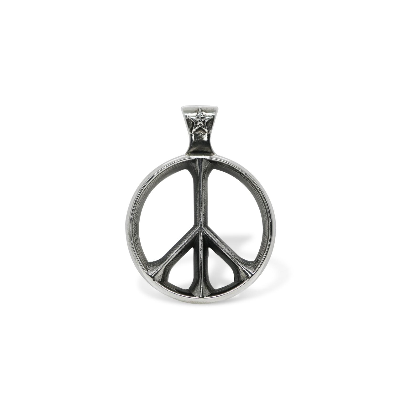 PEACE SIGN PENDANT  [USD $310]