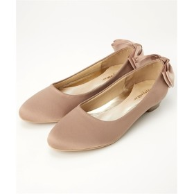 バックリボンパンプス(低反発中敷)(ワイズ4E) パンプス, Pumps, 浅口皮鞋, 淺口皮鞋