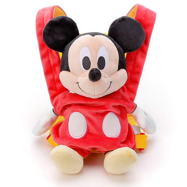 T-ARTS 迪士尼 小媽媽背帶絨毛 米奇