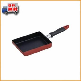 (送料無料)グスターレ 玉子焼13×18cm ブラウン RA-9613 ▼ふっ素樹脂加工で使いやすい