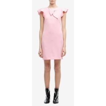 モスキーノ Boutique Moschino レディース ワンピース シフトドレス ワンピース・ドレス Ruffle Shoulder Shift Dress Pink