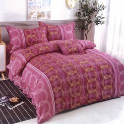 Victoria 抗菌五件式雙人床罩組-朵拉舞曲