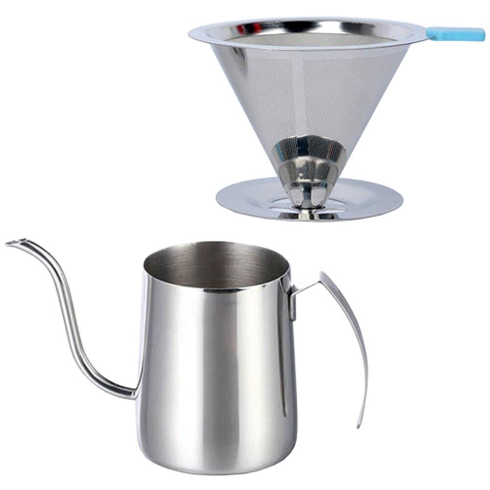 《早安健康》1年12期 贈 304不鏽鋼手沖咖啡2件組