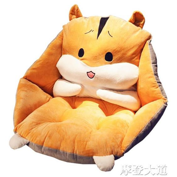 腰靠坐墊地上靠墊一體地板墊子日式懶人榻榻米椅墊辦公室久坐靠背QM 凡客名品